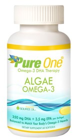 700mg DHA/Serving, Softgels (350 mg DHA each) 100% WATER EXTRACTED ALGAE OMEGA-3