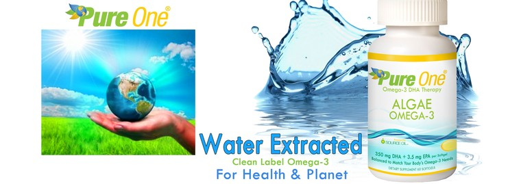 Water Extracted Algae Oil Capsules