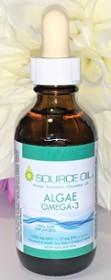 1000 MG DHA ALGAE OMEGA-3 - PURE UNFLAVORED - WITH GRADUATED DROPPER